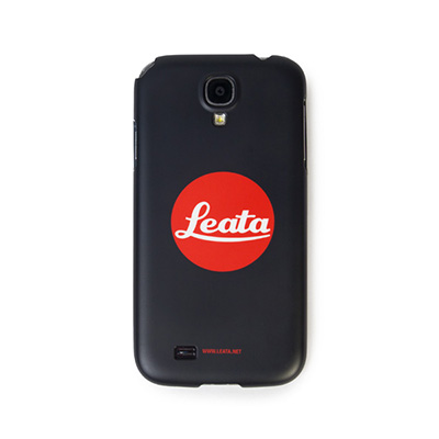 *교환&환불불가* [리타] Cellphone cover leica logo parody (Galaxy S4) black