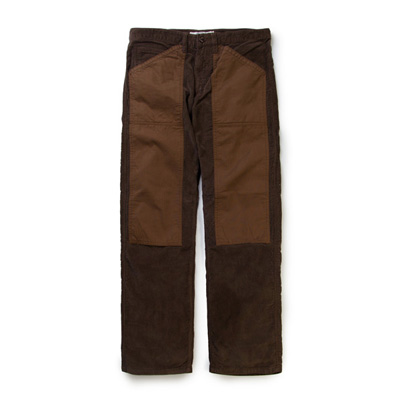 *교환&환불불가* [리타] Double knee Corduroy pants brown
