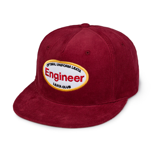 *교환&환불불가* [리타] Engineer corduroy 5 panel cap burgu