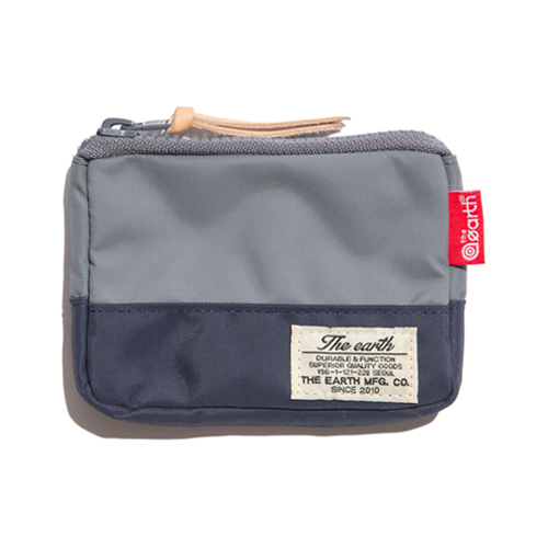 [디얼스] CB N CARD WALLET - GREY/NAVY